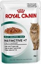 Заказать Royal Canin Instinctive 7+ Jelly / Влажный корм (Консервы-Паучи) Роял Канин Инстинктив для Пожилых кошек старше 7 лет в Желе (цена за упаковку) по цене 650 руб